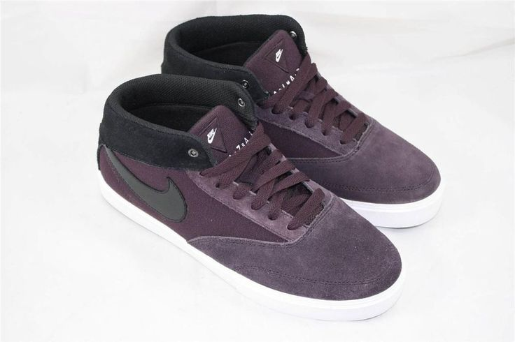 Brand New Nike Omar Salazar LR Size 7 Port Wine Black White 472660 601 #Nike #AthleticSneakers