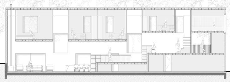 Low Energy Cost Bamboo House by by AST 77 Architecten Casa de Bambú de bajo consumo de energía / AST 77 Architecten (Beukenlaan, 3110 Rotselaar, Belgium)