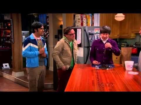 The Big Bang Theory - Penny is teaching Howard fishing! - YouTube