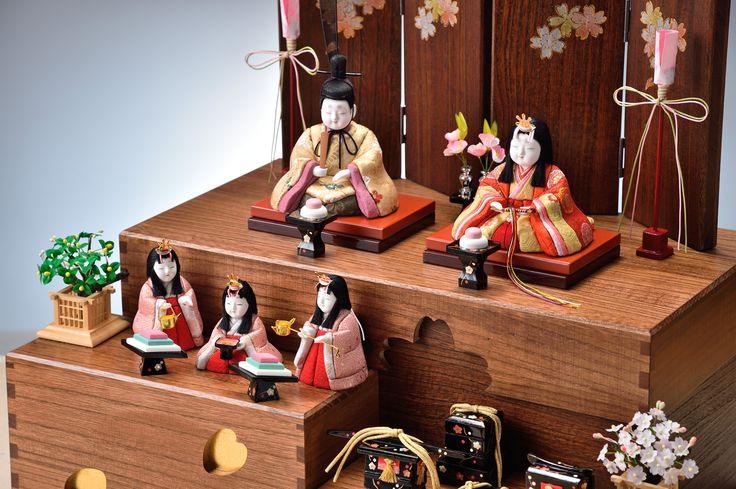 すべての雛人形   真多呂人形ギャラリー