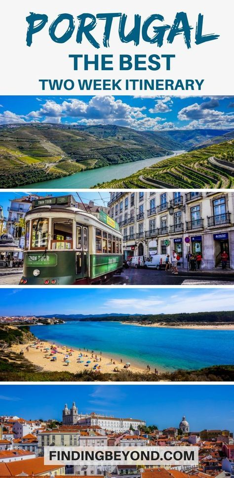 Two weeks in #Portugal is the perfect amount of time to see the best bits of the country. We'll show you our highlights for your Portugal two week #itinerary. | Best of Portugal | #PortugalHighlights | Visiting Portugal | Portugals attractions | #PortugalTravel | Where to go in Portugal | Backpacking Portugal | Top tips for Portugal | #portugalguide #portugaltips #bestofportugal #thingstodo #visitportugal | Best places to visit Portugal | Portugals best bits | Where to go in Portugal |