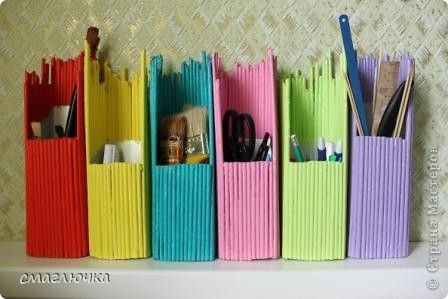 Organizer paper waste material craft ideas pinterest for Useful things from waste