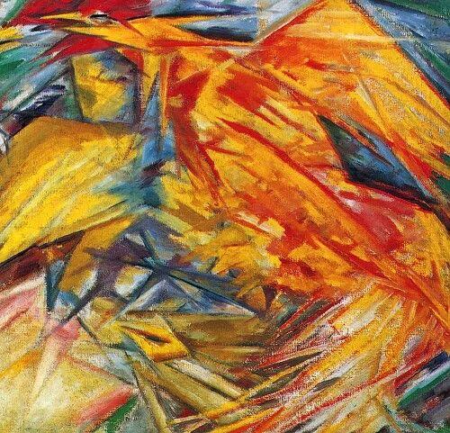 «Петух и курица» 1912 г. Холст, масло 69 х 65 см. Государственная Третьяковская галерея