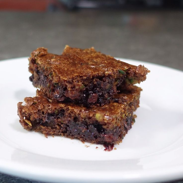 How to make Zucchini Almond Butter Bars.