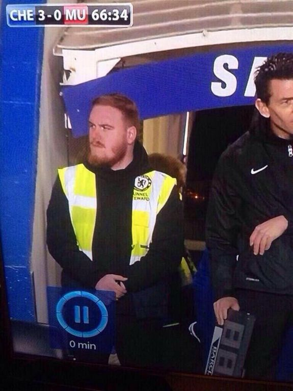Wayne Rooney Chelsea Caption This Is Wayne Rooney moonlighting as Chelsea steward