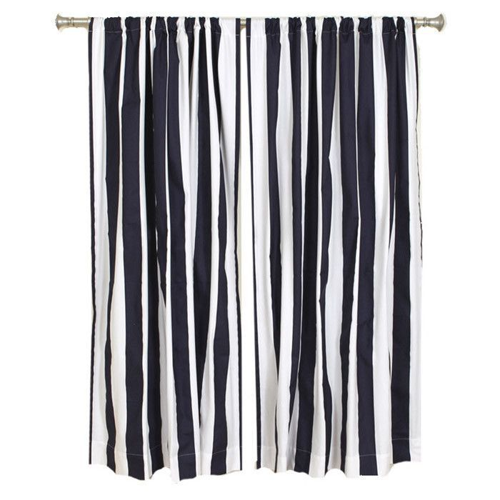 Nautical striped shower curtains - Pinterest