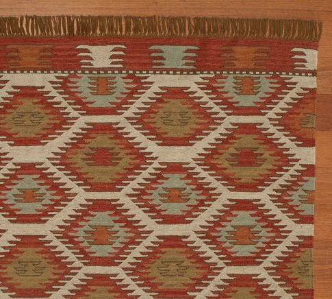 Kilim. Turkish  Inspired Rug From Pottery Barn