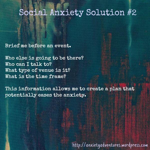 How do I tell my mom I think I have SAD (Social Anxiety Disorder)?