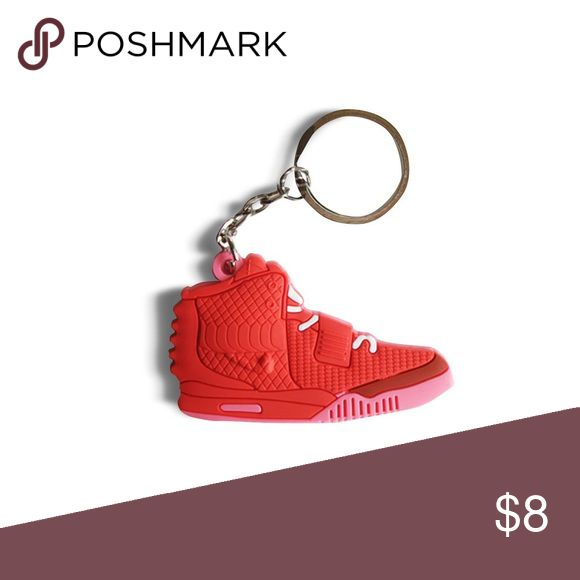 Red Yeezy October Keychain Urban stylish keychain                                                         Don't ever lose your keys again! Nike Accessories Key & Card Holders