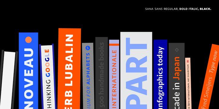 Sana Sans - Webfont & Desktop font « MyFonts