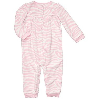 Carter s Pink Zebra Jumpsuit – Girls newborn 24m
