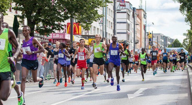 23. Hella Hamburg Halbmarathon auf dem Kiez