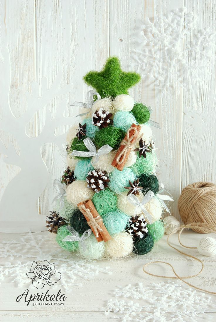 Новогодняя елка, christmas tree, new year , christmas, рождество, handmade, eco tree, green, елка из сизаля