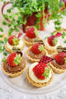 corecle コレクル > ayaka > 【バレンタイン】いちごのカスタードプチフール