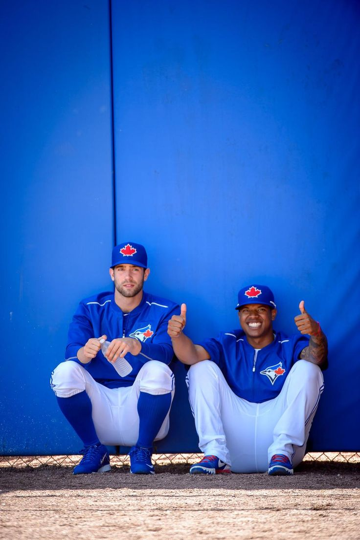 Marcus Stroman and Daniel Norris, Toronto Blue Jays 2015 Spring Training #BlueJays