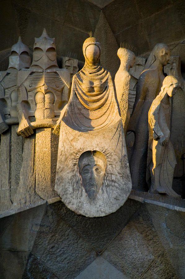 ✮ Statues At Gaudis La Sagrada Familia - Barcelona, Catalonia.