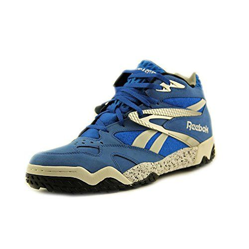 Spencer Hawes Signature Shoes, Reebok Scrimmage Mid Mens fashion sneakers  Model V53284 Corona, California
