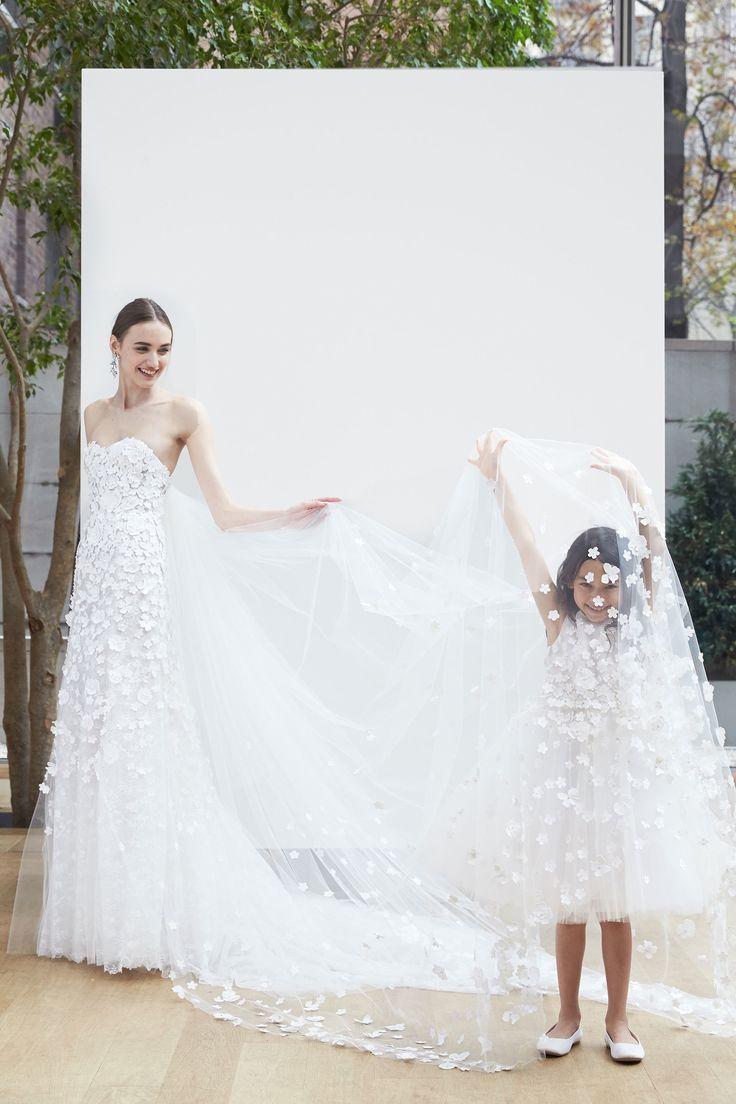 Oscar de la Renta Bridal Spring 2018 collection