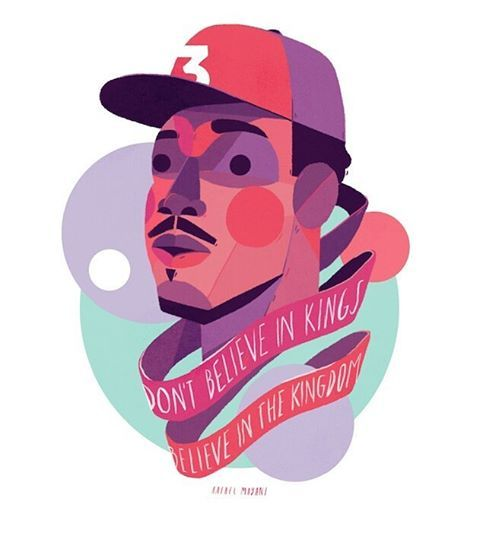 Coloring book is one of my fave albums of the year. So here's Chance the Rapper with a line from Blessings.