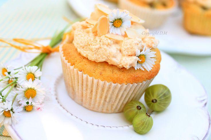 Gooseberry Almond Muffins