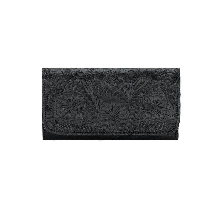 American West Western Leather Wallet