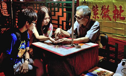 Get Your Fortune Told at Temple Street Market | Bucket List of 17 Things to do in Hong Kong