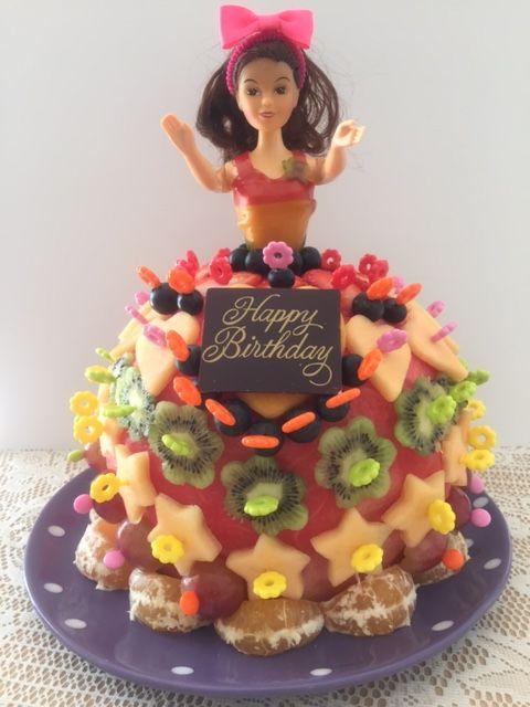 Fruit Dolly Varden cake