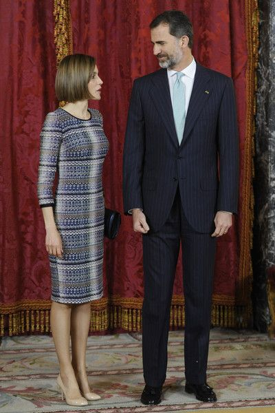 Queen Letizia of Spain Photos - King Felipe VI of Spain Host a Lunch For President of Egypt in Madrid - Zimbio