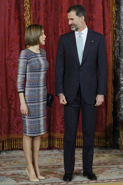 Queen Letizia of Spain Photos - King Felipe VI of Spain Host a Lunch For President of Egypt in Madrid - Zimbio