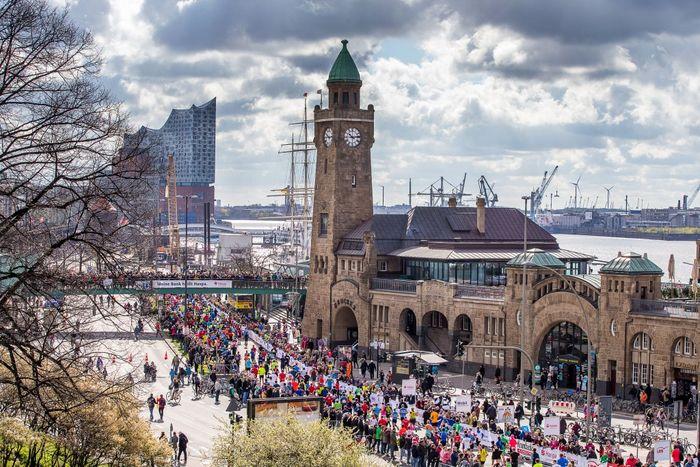 Laufveranstaltung vorgestellt: Der Haspa Marathon Hamburg - Run the Blue Line