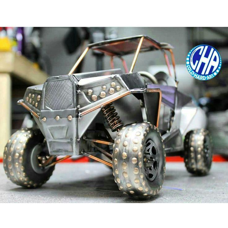 Rzr 1000 metal art cold hard art dirt motorsports