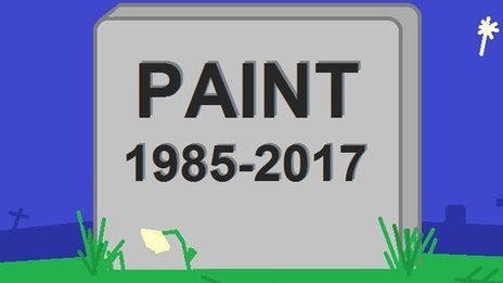 Microsoft signals end of Paint program https://tmbw.news/microsoft-signals-end-of-paint-program  Microsoft's graphics program Paint has been included in a list of Windows 10 features that will be either removed or no longer developed.Paint has been part of the Windows operating system since its release in 1985 and is known for its simplicity and basic artistic results.Paint's successor, Paint 3D, will still be available.The list was issued as part of the Windows 10 Fall Creators Update…