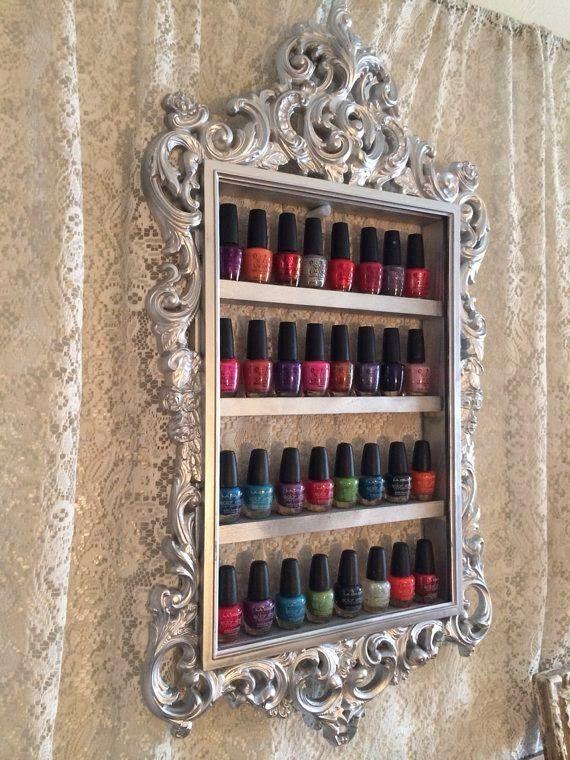 Como organizar os esmaltes e incorporá-los na decoração