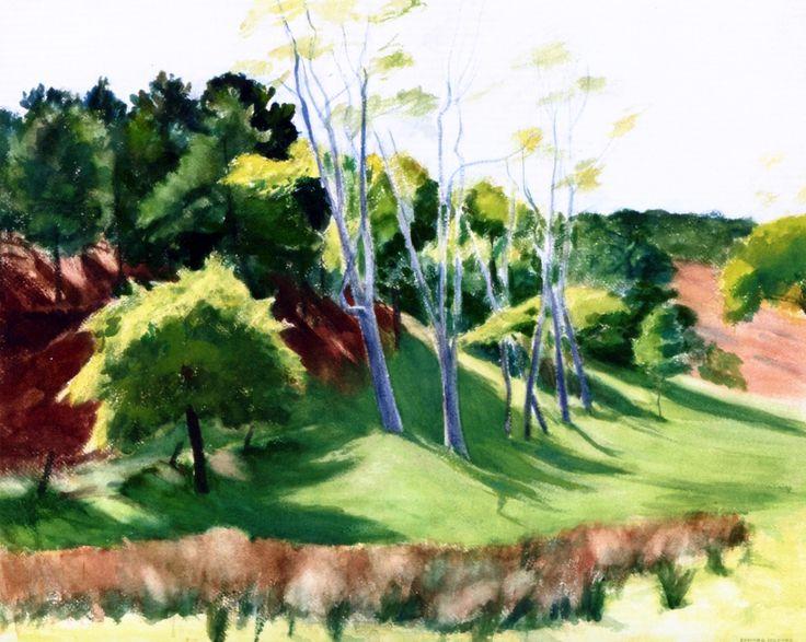 Spindley Locusts Edward Hopper - 1936