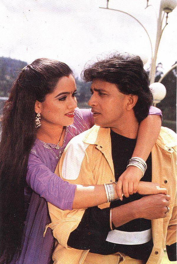 Mithun Chakraborty & Padmini Kolhapure