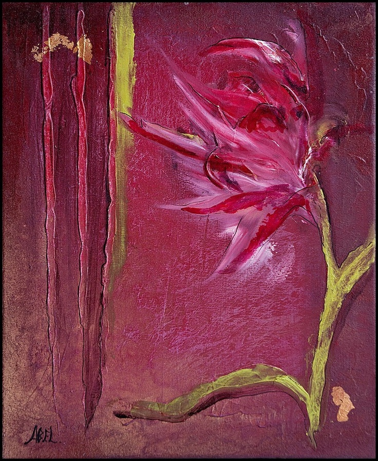 Œuvre Originale :     Artiste : Patricia Abel    Dimension : 46 /38 cm
