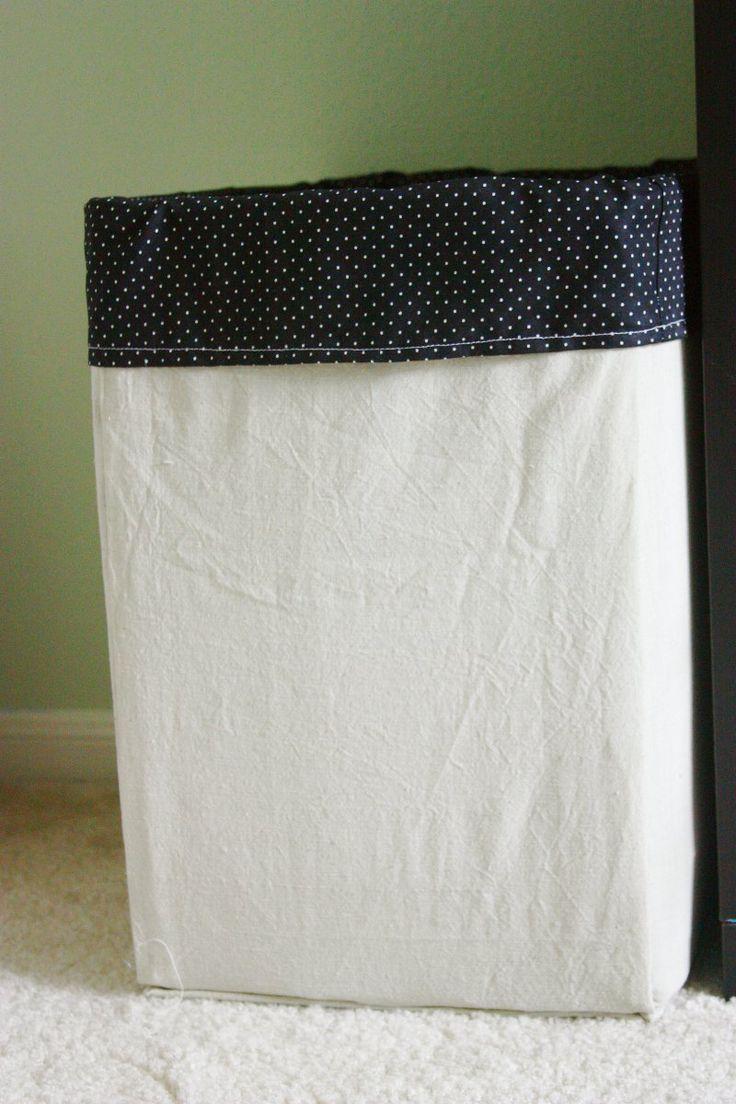 best laundry hamper images on pinterest  laundry hamper  - cardboard laundry hamper  diycool idea for an oversized hamper