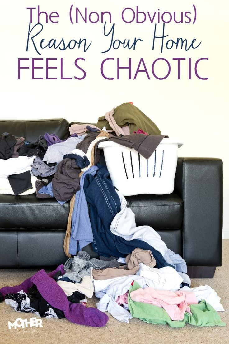 Do you ever wonder why your home feels chaotic and disordered? Here's a very common sense (but not obvious) reason your homemaking efforts feel like failures. Great read for stay at home moms.