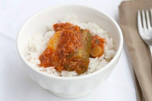 Ricetta Car u'bsel: zucchine ripiene tripoline - Labna
