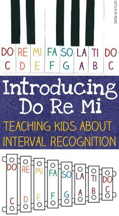 Introducing Do Re Mi - Interval Recognition for Kids. This and the whole blog. Excellent stuff!