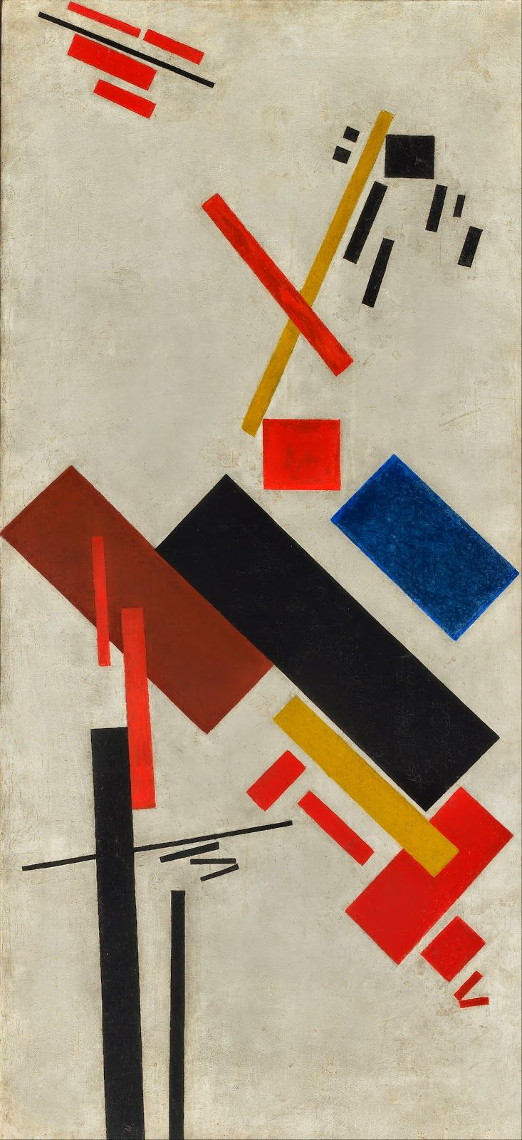 an analysis of the painting red square by kasimir malevich Suprematist composition: white on white (1918) is an abstract oil-on-canvas painting by kazimir malevichit is one of the more well-known examples of the russian suprematism movement, painted the year after the october revolution.