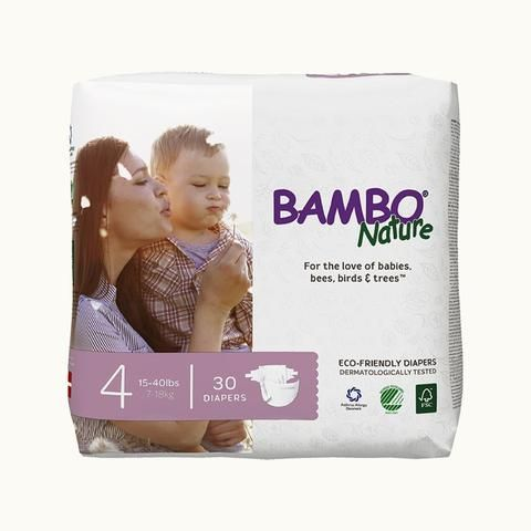The focus and goal of Bambo Nature Baby Diapers are on Health of your child and the environment. The certify that our diapers are 100% free of dangerous chemicals and all known allergens. We guarantee that the wood used for pulp is derived from sustainable forestry; where more trees are planted than felled. We have voluntarily decided to undergo strict health and environmental inspections of the entire Diaper Process - from raw materials to production, consumption, and waste. We hold…