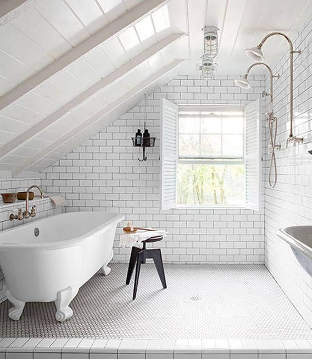 Bathroom Loft Conversion - Scandinavian Interiors