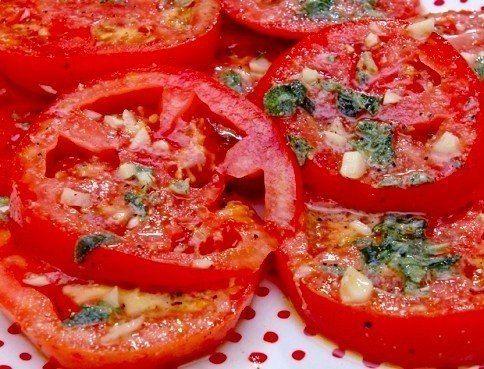 Маринованные помидоры по-итальянски за 30 минут | thePO.ST
