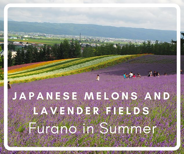 Hokkaido is not only a great place to visit in winter, but also a fun destination in summer. Especially visiting Furano with its lavender fields and delicious melons it has a lot to offer for all travelers. And don't forget about the blue pond.