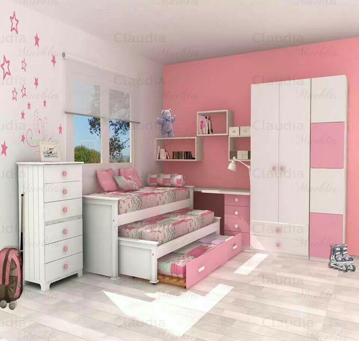 Mejores 81 imágenes de cuartos infantiles en Pinterest | Habitación ...