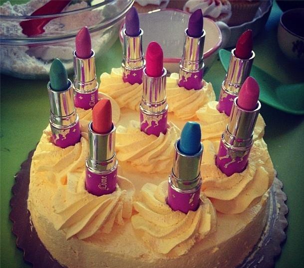 Lipstick Cake: 8 Best Lipstick Cakes Images On Pinterest