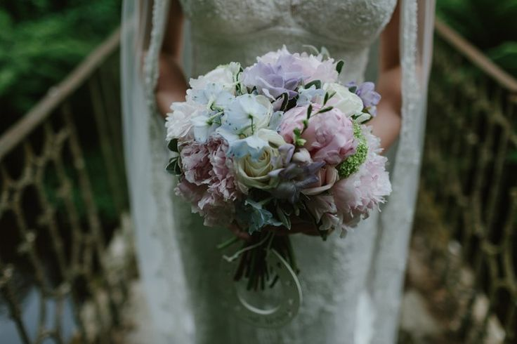 Peony Peonies Rose Bouquet Flowers Bride Bridal Pastel Summer Marquee Country Estate Wedding http://www.rooftopmosaic.com/