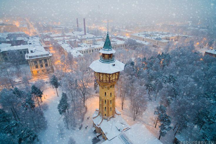 Водонапорная башня Политехнического университета — National Geographic Россия