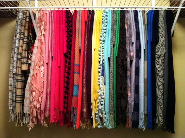 5 Ways To Organize Your Scarves | Hashtag Hijab